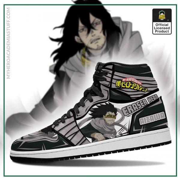 aizawa eraser head jordan sneakers custom my hero academia anime shoes mn05 gearanime 3 - BNHA Store