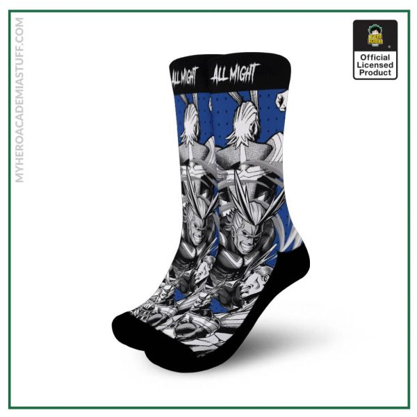 all might socks my hero academia anime socks mixed manga gearanime - BNHA Store