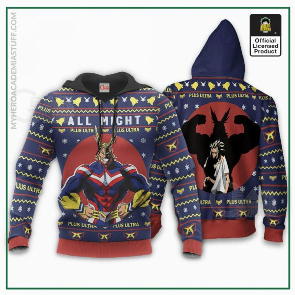 all might ugly christmas sweater my hero academia anime xmas shirt gearanime 3 80cf7894 1ddf 4bbd 88c8 ad7996b2433e - BNHA Store