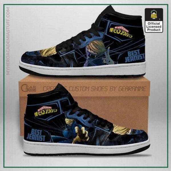 best jeanist jordan sneakers my hero academia anime custom shoes gearanime - BNHA Store