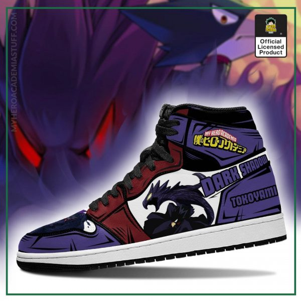 fumikage tokoyami jordan sneakers skill my hero academia anime shoes pt04 gearanime 3 - BNHA Store
