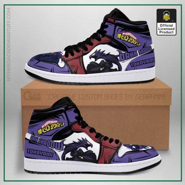 fumikage tokoyami jordan sneakers skill my hero academia anime shoes pt04 gearanime - BNHA Store