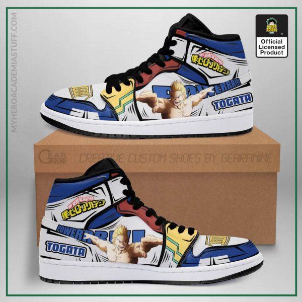 mirio togata jordan sneakers skill my hero academia anime shoes pt04 gearanime - BNHA Store