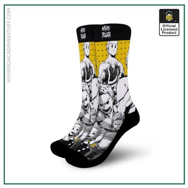 mirio togata socks my hero academia anime socks mixed manga gearanime - BNHA Store