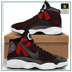 red riot jordan 13 shoes my hero academia anime sneakers gearanime - BNHA Store
