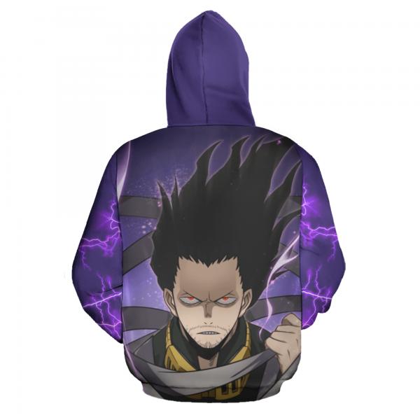 shouta aizawa zip hoodie my hero academia anime shirt fan gift ha06 gearanime 3 - BNHA Store