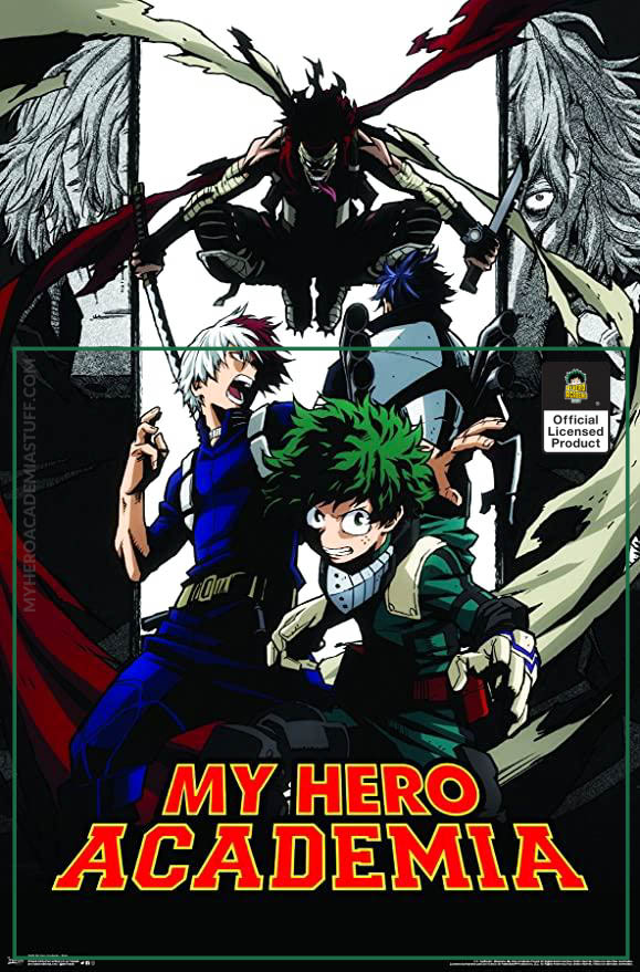 stain poster - BNHA Store
