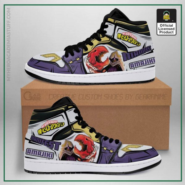 tamaki amajiki jordan sneakers skill my hero academia anime shoes pt04 gearanime - BNHA Store