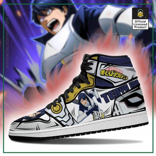 tenya ingenium jordan sneakers custom my hero academia anime shoes mn05 gearanime 3 - BNHA Store
