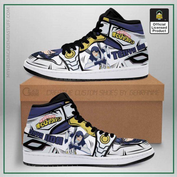 tenya ingenium jordan sneakers custom my hero academia anime shoes mn05 gearanime - BNHA Store