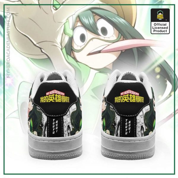 tsuyu asui air force sneakers custom my hero academia anime shoes fan gift pt05 gearanime 3 - BNHA Store