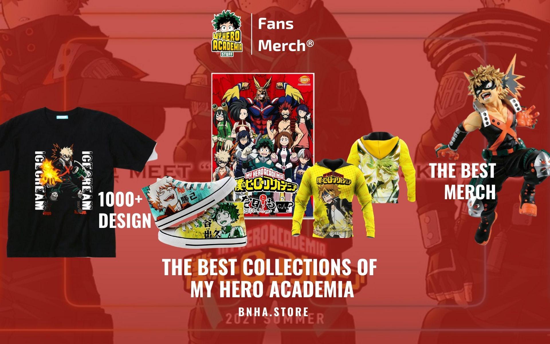 My Hero Web Banner - BNHA Store