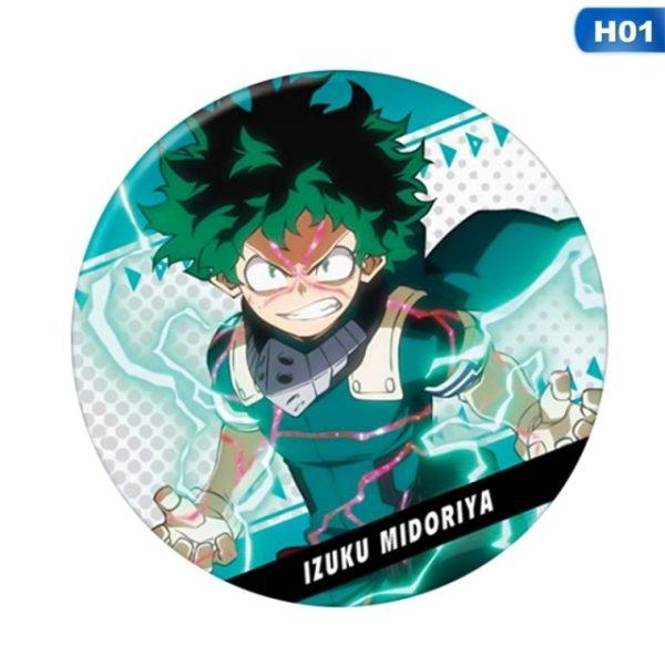 1Pc Anime My Hero Academia Cosplay Badge Cartoon Boku No Hero Academia Brooch Pins Izuku - BNHA Store
