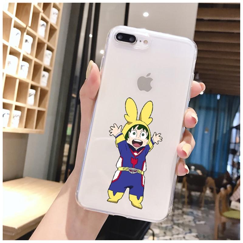 Anime My Hero Academia deku bakugou Boku no Hero Academia Phone Case For iphone 11 Pro 8 7 6 6S Plus 12 X XS MAX XR Fundas Coque